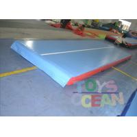 China Airtight Inflatable Air Track For Tumbling / Safe Inflatable Air Mat wholesale