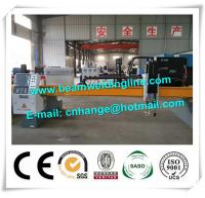 Buy cheap CNC Plasma Cutting Machine In H Beam Welding Line , Plasma Flame Cutting Machine from wholesalers