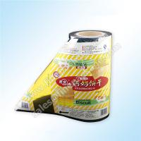 China snack biscuit packaging rollstock film with customed printing wholesale