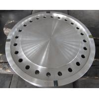Quality Forged Disc Tube Sheet Finish Machined For Heat Exchanger , Stainless Steel for sale