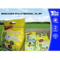 China MANCOZEB 64% + CYMOXANIL 6% WP Pesticide Mixture 8018-01-7 57966-95-7 wholesale
