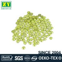 High Color Accuracy Flat Back Metal Studs Good Stickness With Even Shinning for sale