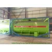 China 20Feet HCL Acid ISO Tank Container For Shipping UN1789 Steel Lined PE 16mm wholesale