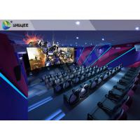 China Large Durable 9D Cinema System Amusement 9D Equipment For Business Center wholesale