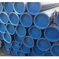 China Beveled Ends Steam Boiler Tubes With Plastic Caps And Black Painting wholesale