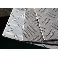 Buy cheap 1060 5754 6061 H14 Diamond Aluminum Sheet 2mm-10mm Thickness ASTM-B209 Standard from wholesalers