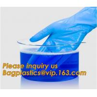 China Medical Disposable Nitrile Coated Hand Gloves,Industrial Garden Working Resistant Disposable Nitrile Black Gloves BAGEAS on sale