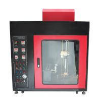 China Flammability Testing Equipment Touch Screen Horizontal - Vertical And Needle Flame Burning Machine on sale