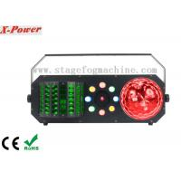 China 4 IN 1 Led Wash + Red Green Laser DMX Control Led Disco Lights For Night Club wholesale