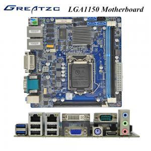 China Advertising Machine Socket LGA 1150 Motherboard With 2 LAN VGA HDMI DVI PCIE 16X wholesale