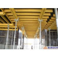 China Steel Prop Slab Formwork Systems , Trolley Movable Shuttering For Concrete Slab  wholesale