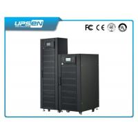 China 3 Phase Double Conversion Online UPS with 380VAC Neutral Ground and black wholesale