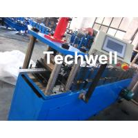 China Hydraulic Cutting Metal Stud Roll Forming Machine For Roof Ceiling Batten wholesale