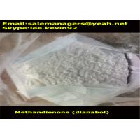 Buy cheap CAS72-63-9 Raw Steroid Powders Methandienone / Dianabol Powder Medical Grade from wholesalers