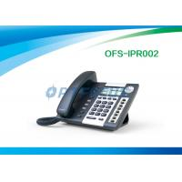 """China Corded Telephones POE IP Phone 4 SIP lines 3.2"""" 224 x 128 Pixel LCD Dual Ethernet Port wholesale"""