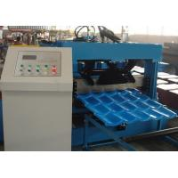 China Roof Tile Roll Forming Machine 22 Forming Stations For Metal Roof Panel wholesale