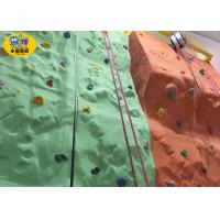 Plastic Kids Rock Climbing Wall Indoor Playground Equipment CE Approved