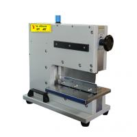 China Small Pneumatic PCB Depaneling Equipment V Groove Cutting Machine 2000mm wholesale