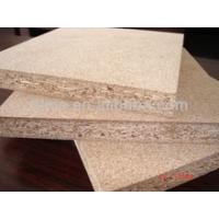 China 12mm waterproof white melamine laminated particle board wholesale