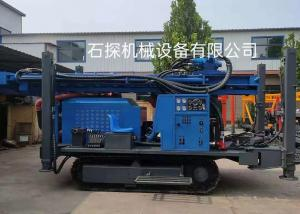 China Customized Color St 400 Meters Depth Pneumatic Borewell Machine wholesale