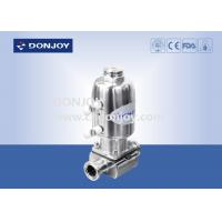 China Mini Canned Sanitary Diaphragm Valve with Stainless steel actuator on sale