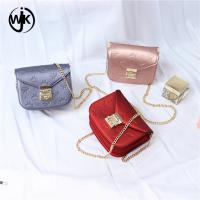China online shopping small size sling bag Guangzhou factory cheap price lady bags pvc jelly bag wholesale