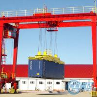 China RTG tyred type container portal crane on sale