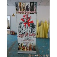 China Easy Taking Luxury Double Sided Retractable Banner Full Color Printing wholesale