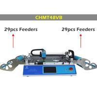 Dual side Feeder CHMT48VB Desktop Pick and Place Machine , surface mounting machine