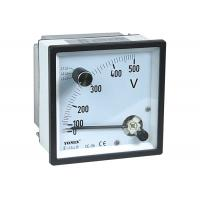 China CE Approved Analogue Panel Meters With Change-Over Switch Voltmeter / Voltage Meter wholesale