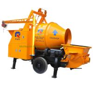 China Pully JBT40-P1 electric mini concrete mixer, diesel concrete mixer with pump, concrete mixer trailer wholesale