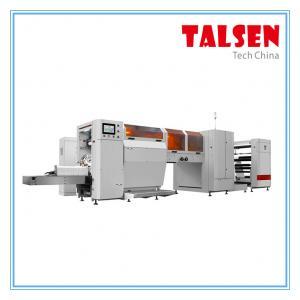 JDM-350 model V bottom paper bag making machine with plastic window 500pcs/min