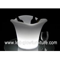 China Lighting LED Ice Bucket for bar wine holder with remote control and rechargeable battery wholesale