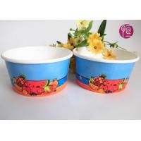 China 12oz Disposable Ice Cream Cups , custom printed ice cream containers wholesale