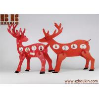 China wooden christmas decoration Desktop Decoration Christmas Creative Gifts Wooden deer ornament wholesale