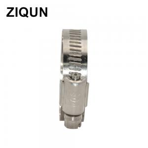 China ZIQUN Brand best quality stainless steel ventilation hvac professional gas pipe custom american hose clamp kit suit wholesale