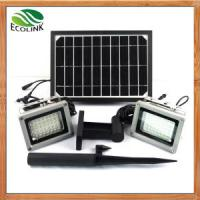 China China Solar Energy /Solar Power Dual Outdoor LED Floodlight for Garden wholesale