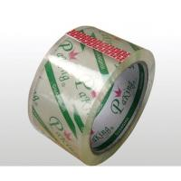 China Professional Crystal Clear Tape Strong Adhesive Coated With Water Based Acrylic Glue wholesale
