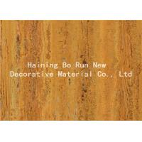 China Strong Adhesive Wood Grain Film For PVC Decorative Board Corrosion Resistance wholesale