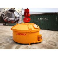 China Plastic Dry Concrete Counter Current Mixer 1800kgs Input Weight Low Noise Rotation wholesale