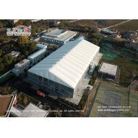 China Trade Show / Sport Event Tents For Basketball Court With White PVC Roof Cover wholesale