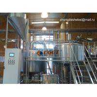 3000L Large Scale Brewing Equipment 304 Sanitary Pumps for sale