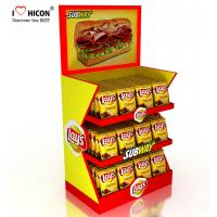 China Make Impression Retail Store Fixtures Delicious Snacks Potato Chips Counter Display Rack wholesale