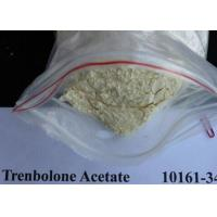 China 99% Yellow Raw Hormone Powders Trenbolone Acetate To Get Lean wholesale