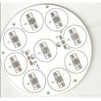 China Led Aluminium PCB Board With One Layer Thickness 1.6mm 40W Power 108mm Dia Apply wholesale