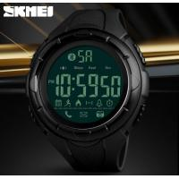 Quality Skmei Smart Bluetooth PU Strap Multifunction Outdoor Sport Wrist Watches Support Android and ios 1326 for sale