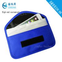 China Canvas RFID Travel Bags , Mobile Phone Signal Rfid Blocking Wallet wholesale