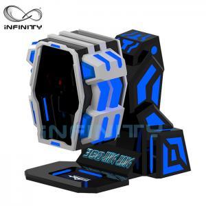 China 360 Degree Flight VR Motion Simulator / 9D Virtual Reality Roller Coaster Game Machine wholesale