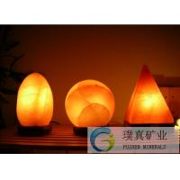 Himalayan Salt Lamp pyramid shape Rock Salt negative ions generator of item 105636503
