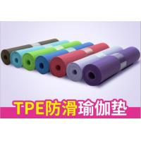 China Yoga & Pilate  6MM PVC Fitness Gym Exercise Yoga Mat wholesale